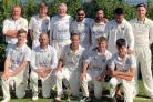 Oakmere Cricket Club's second XI is all smiles after prevailing against Port Sunlight in the Cheshire League's T20 Cup final at Heaton Mersey last weekend