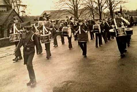 Archive picture of 1st Port Sunlight Boys Brigade, courtesy of Peter Huxley