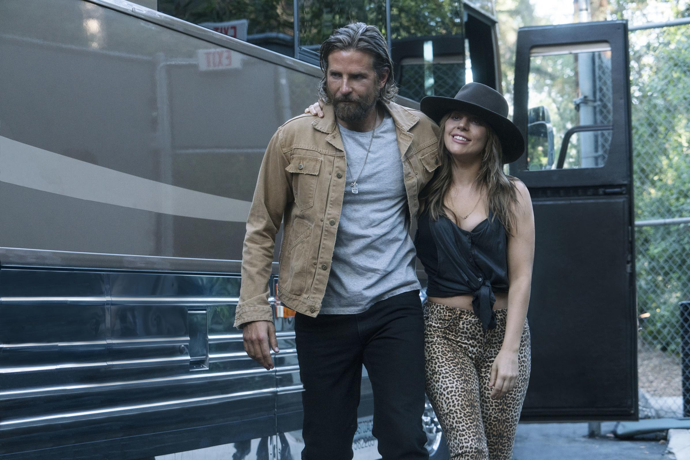 radley Cooper as Jackson Maine and Lady Gaga as Ally