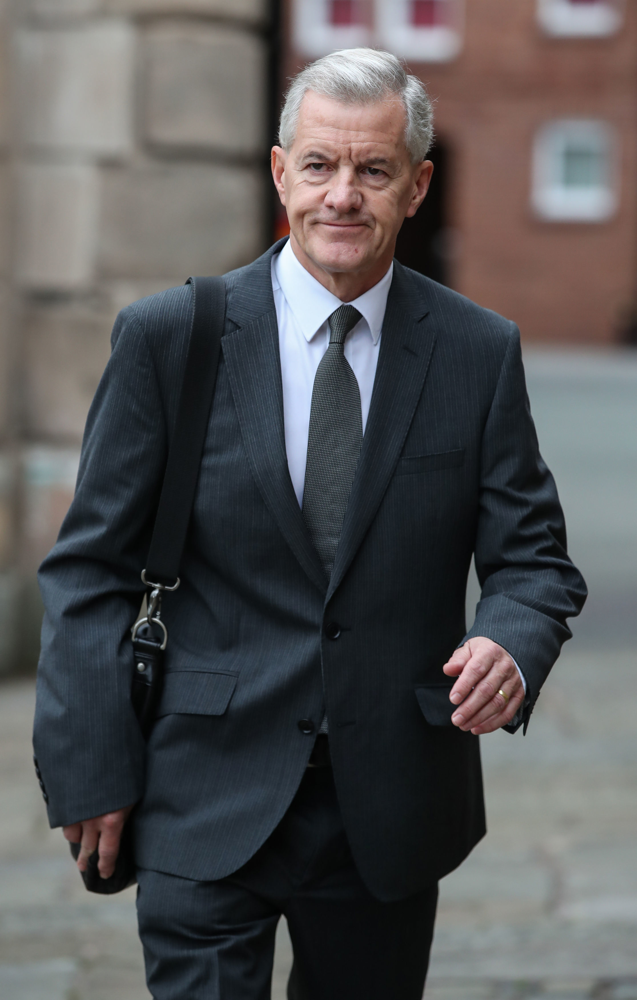 Paul McCann a former football coach at Crewe Alexandra arrives at Chester Crown Court (Picture: Peter Byrne/PA Wire)