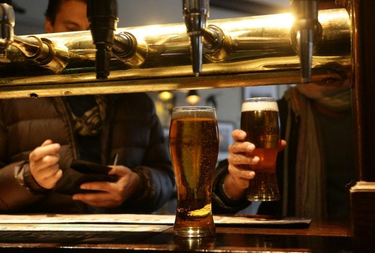 Tax on beer is expected to rise by 3.4% in the Chancellor's Autumn Budget