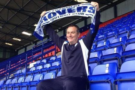 Tranmere Rovers manager Micky Mellon. (Picture: Craig Manning)