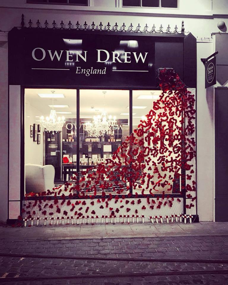 Owen Drew candles are raising cash for the Royal British Legion