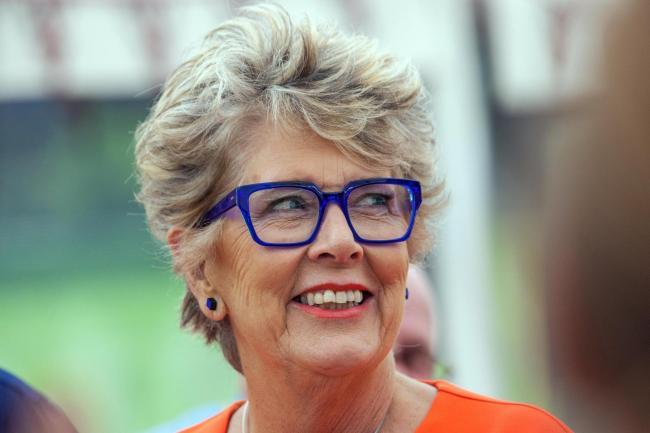 Prue Leith will visit Heswall Hall for a book signing event later this month (Picture: GBBO/Channel 4)
