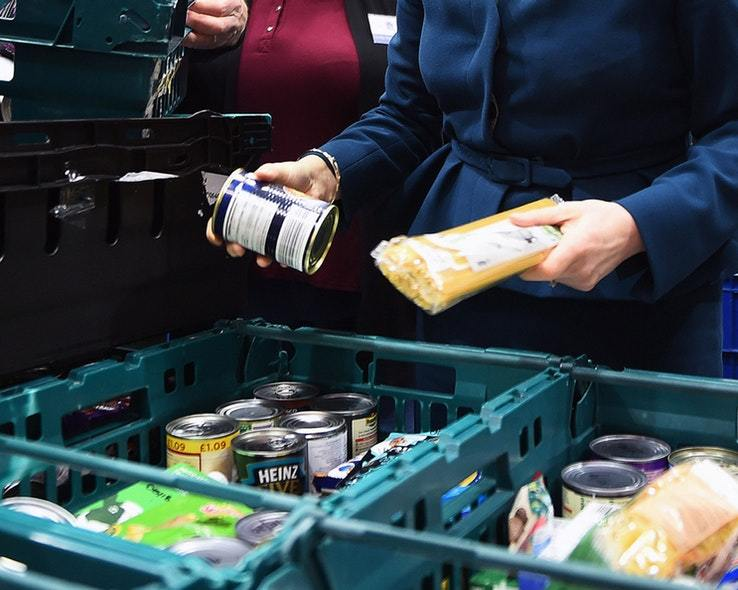 That's a 16% increase on the same period in 2017, when 26,906 food parcels were handed out