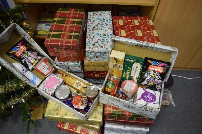 Christmas Shoebox.Spread Festive Cheer With Elderly Shoebox Appeal Wirral Globe