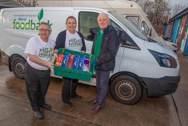 Asda Funds New Warehouse And Equipment For Wirral Foodbank