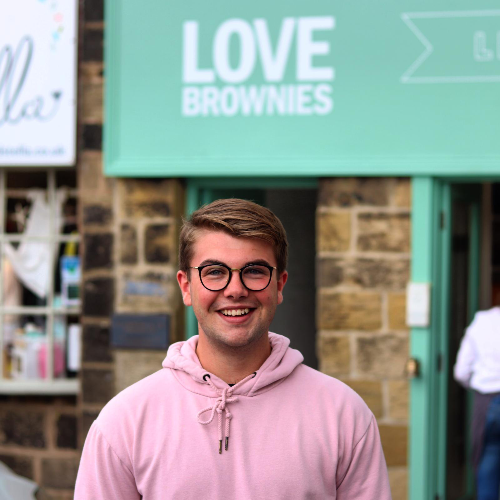19-year-old opens new cafe serving up award-winning brownies