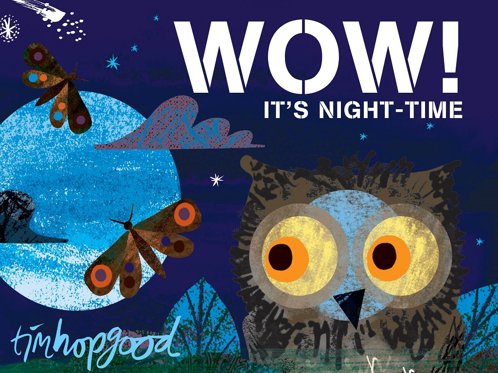 Wow! It's Night Time