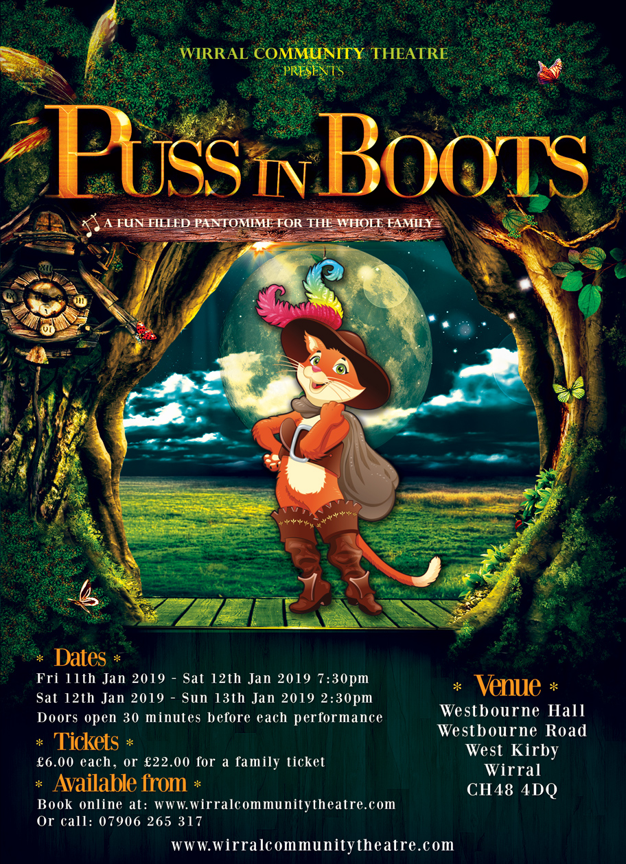 Puss in Boots The Pantomime by Wirral Community Theatre
