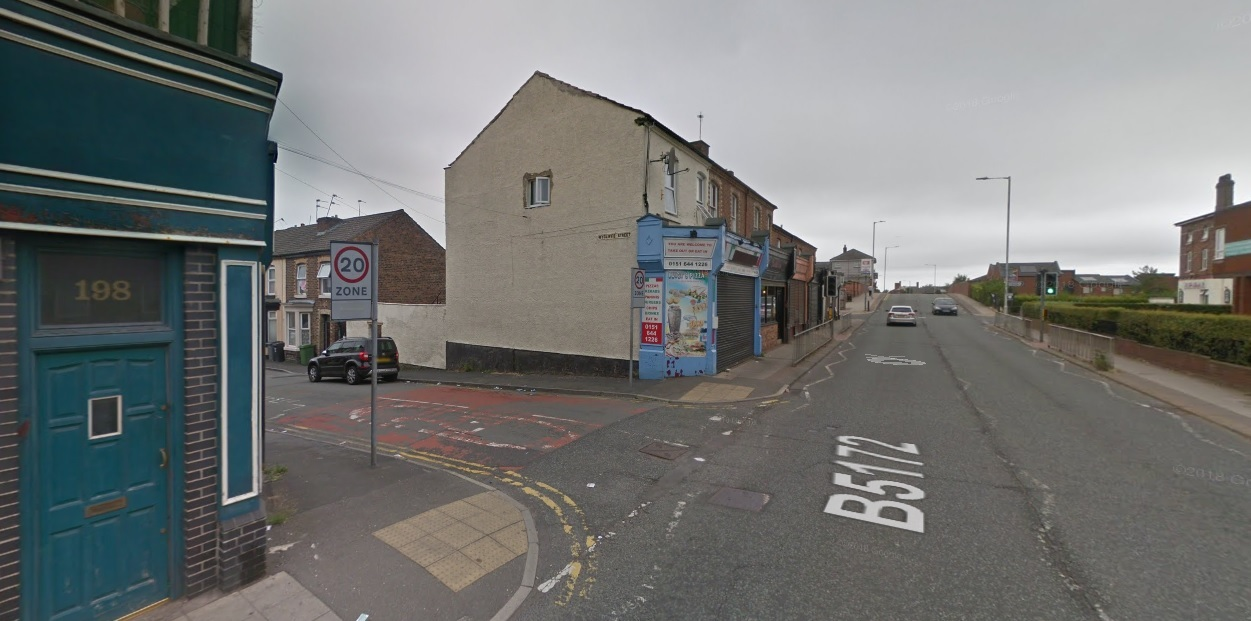 Crews attended a fire at a flat in Bedford Road, Rock Ferry (Google Maps)