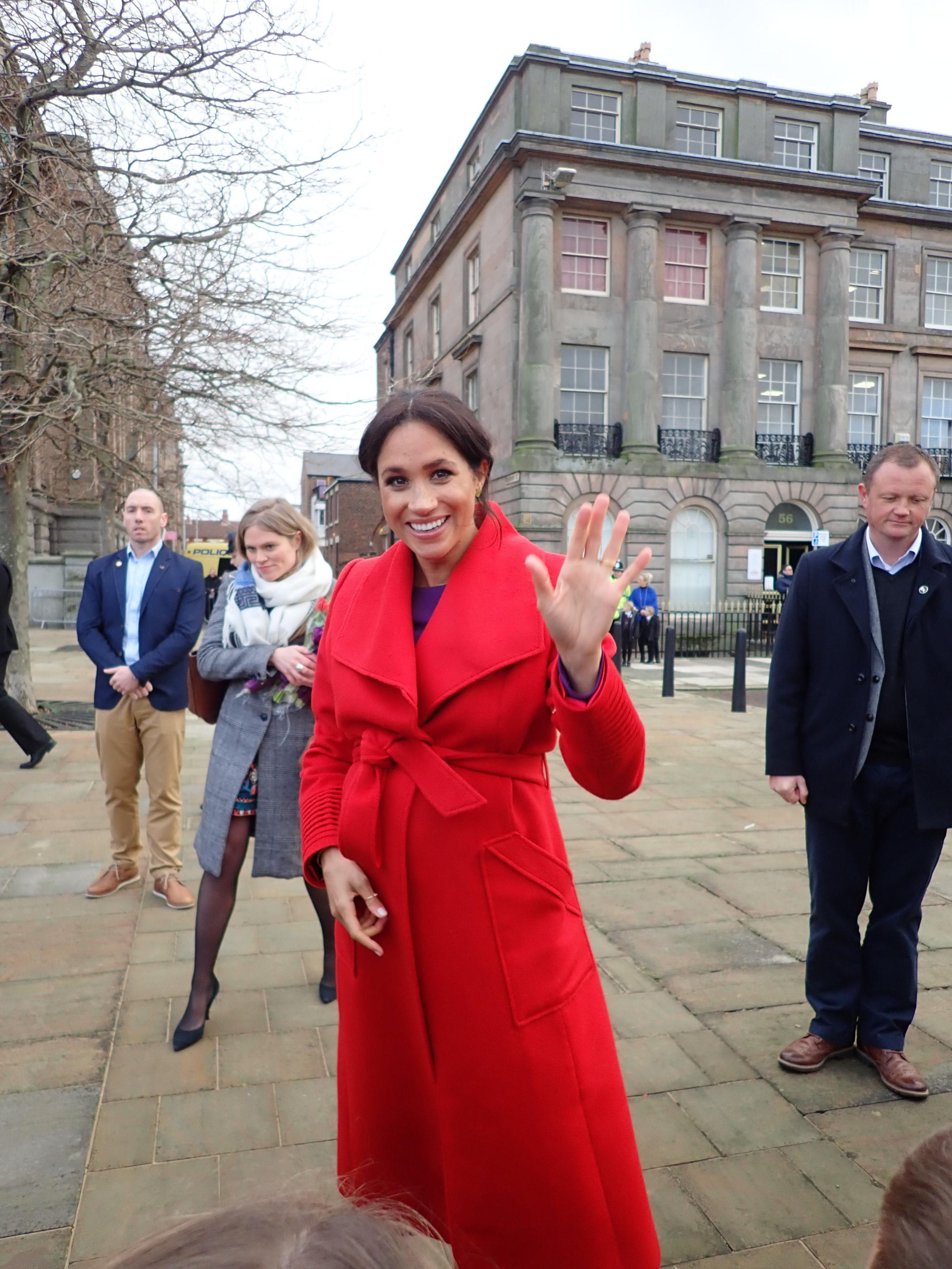 What a difference a year makes: When Harry and Meghan visited Birkenhead