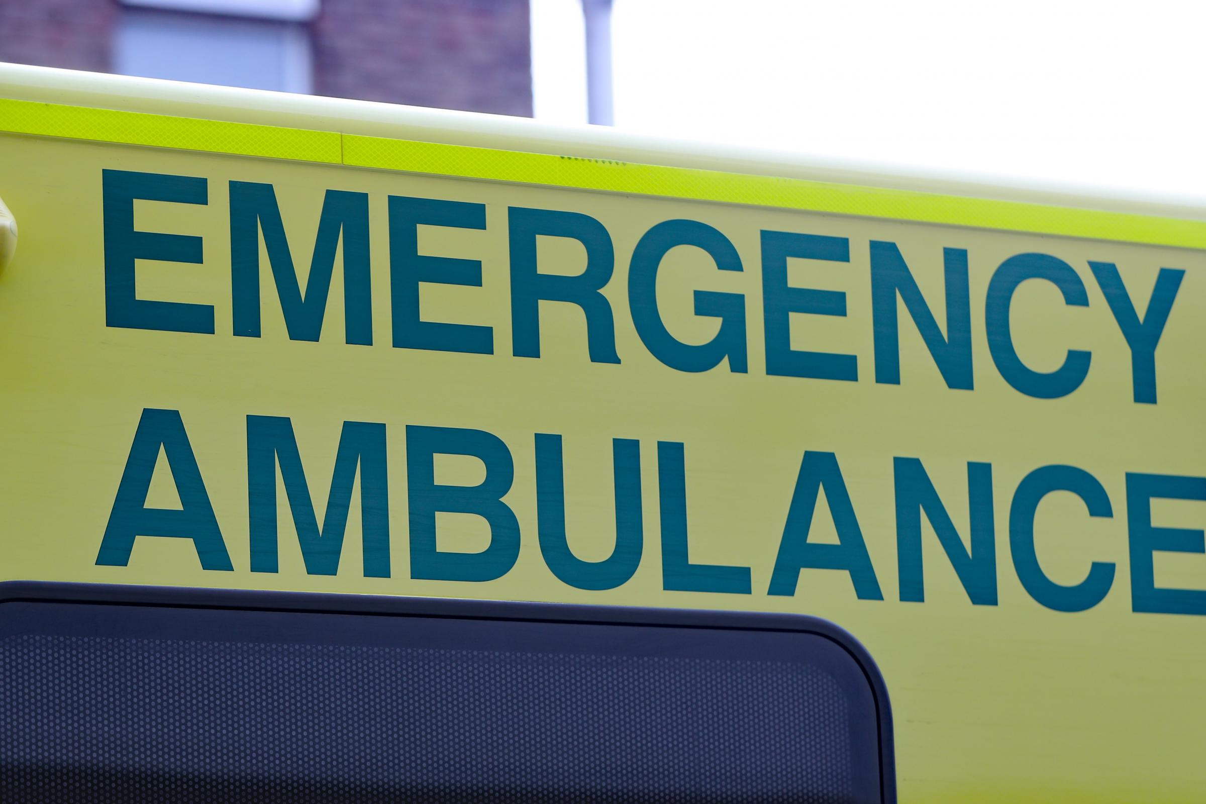 Motorist treated by paramedics after collision in Little Neston