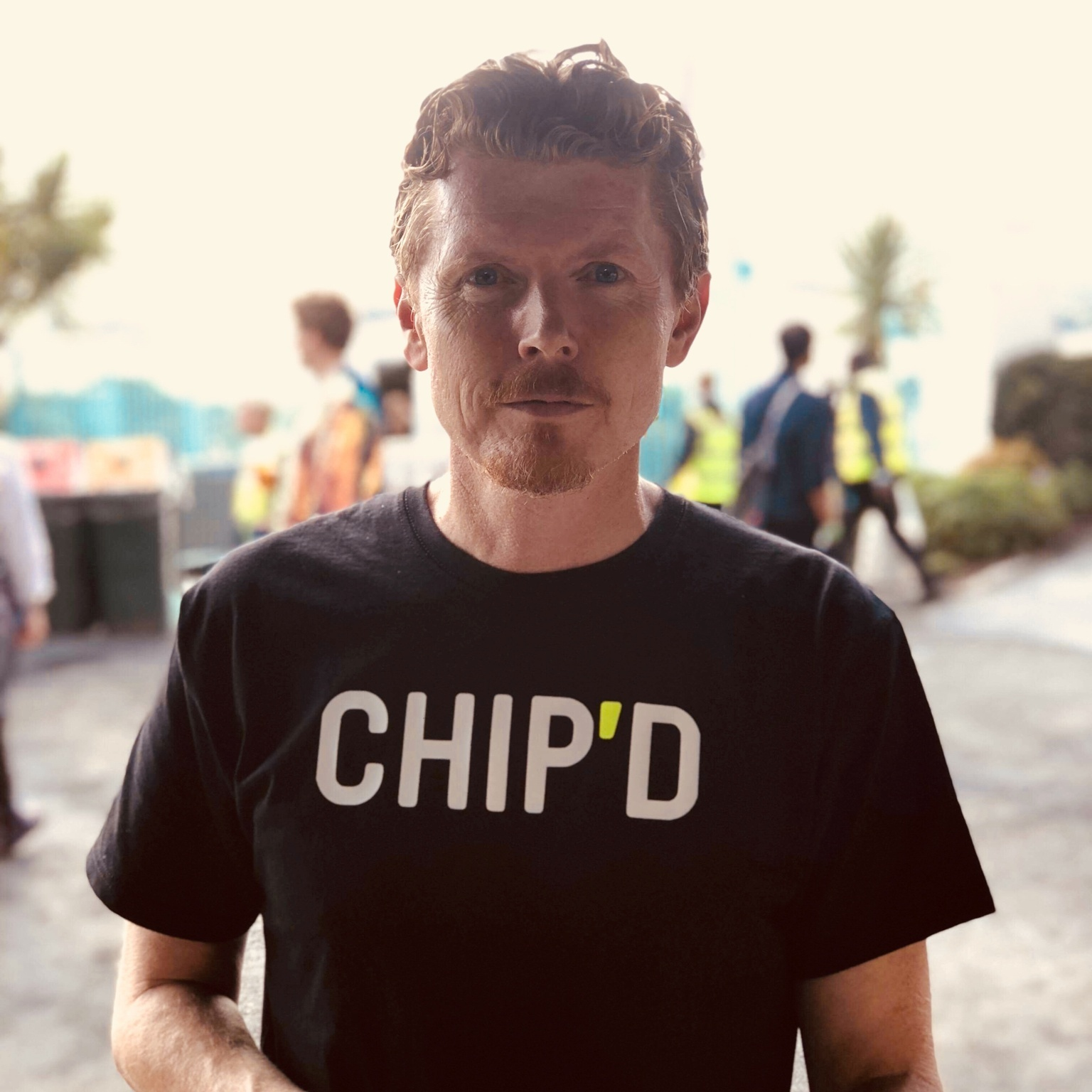 Andrew McKechnie, founder and creator of Chip'd