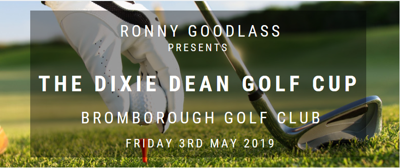Ronny Goodlass Presents The Dixie Dean Golf Cup