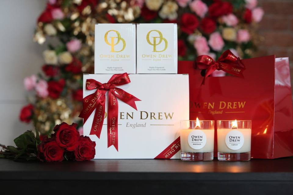 The first fifty customers at Owen Drew's Pacific Road store will receive a Valentine's Day goodie-bag