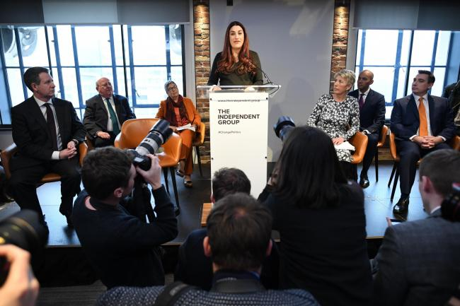 Luciana Berger: 'This morning we have all resigned from the Labour Party'