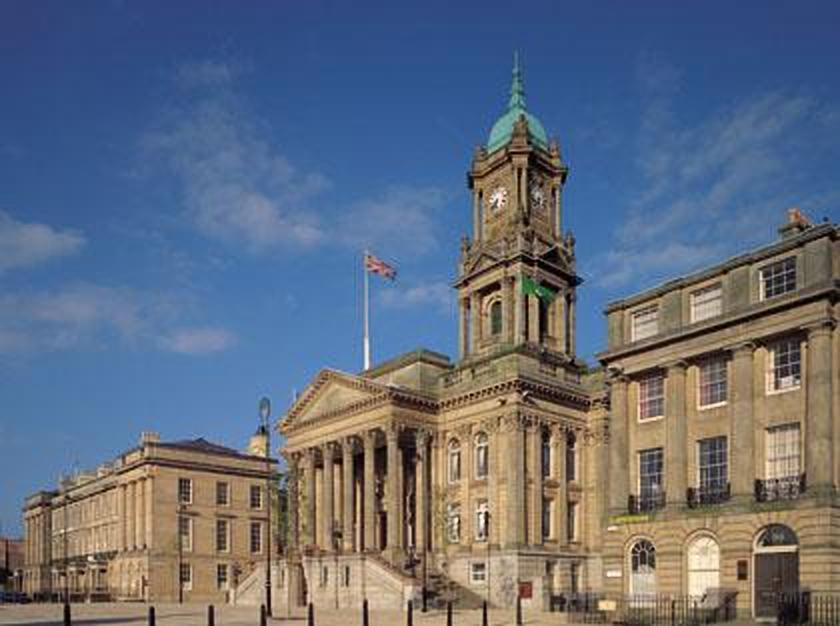 "The event was set to take place at Birkenhead Town Hall on Saturday, but a council security employee reportedly turned up ""without keys"" so it had to be temporarily moved to the nearby Welcome Centre"