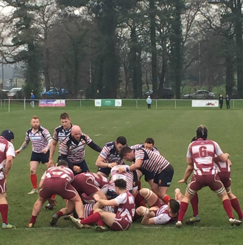 Action from Wirral's game against Birkenhead Park.  Picture: John Horwood