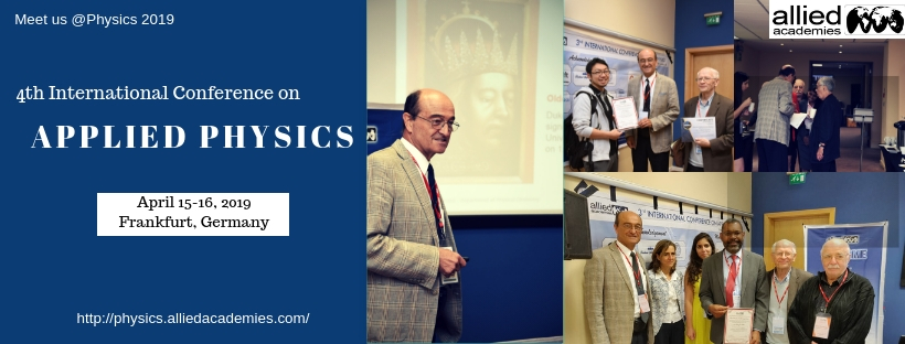 4th International Conference on Applied Physics