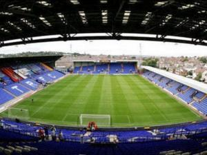 Tranmere Rovers Prenton Park ground
