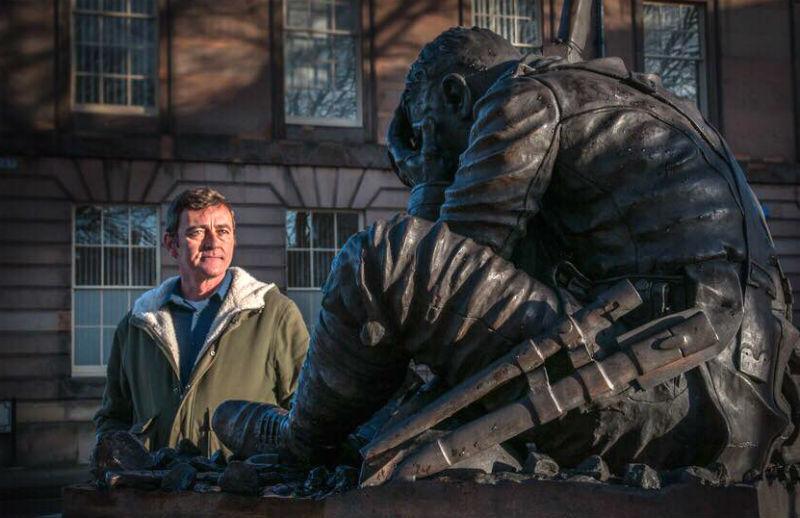 Artist Jim Whelan to tell story of Wilfred Owen-inspired sculpture