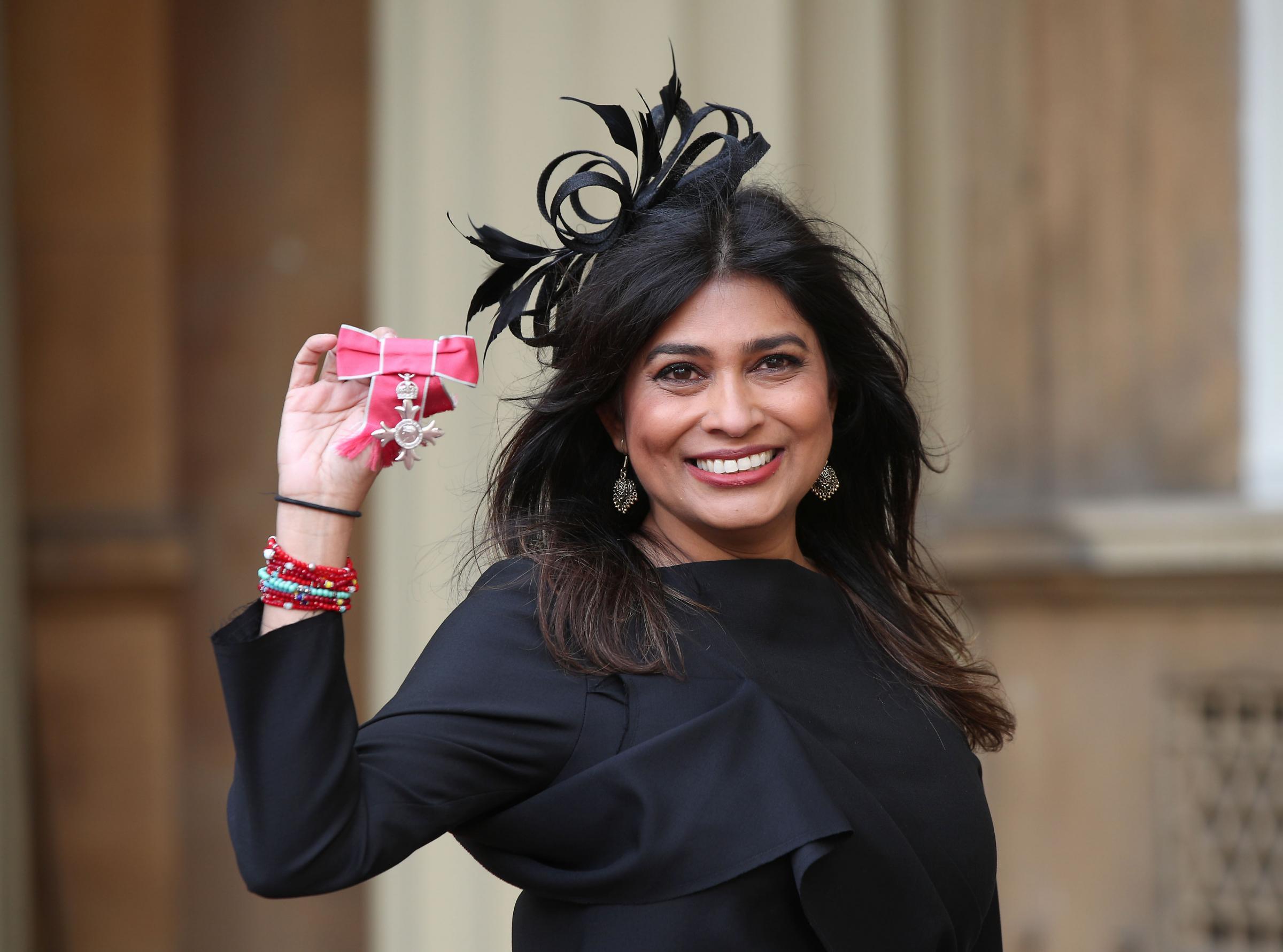 Wirral's Nisha Katona receives MBE at Buckingham Palace