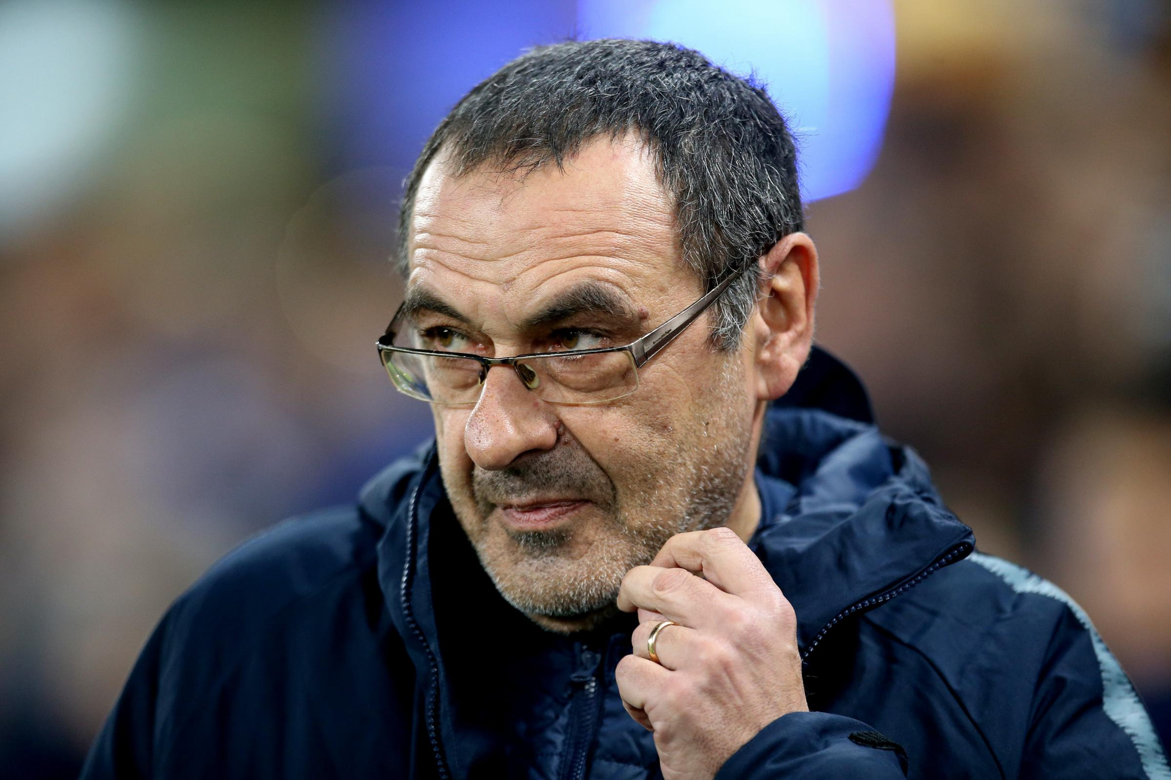 Chelsea manager Maurizio Sarri hopes to face former club Napoli in the Europa League final