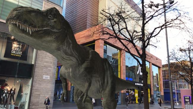 The interactive game, which allows users to hatch, feed and train dinosaurs via an augmented reality app, will come to a close on 2 June following a 10-week dinosaur 'invasion' at the retail destination
