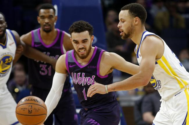 Curry shines as Golden State Warriors beat Minnesota Timberwolves ... 8dbc64c4f