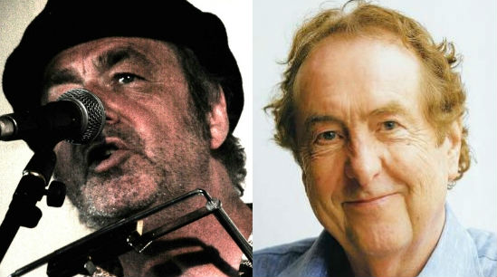 Dean Johnson (left) will celebrate the career of Eric Idle (right)