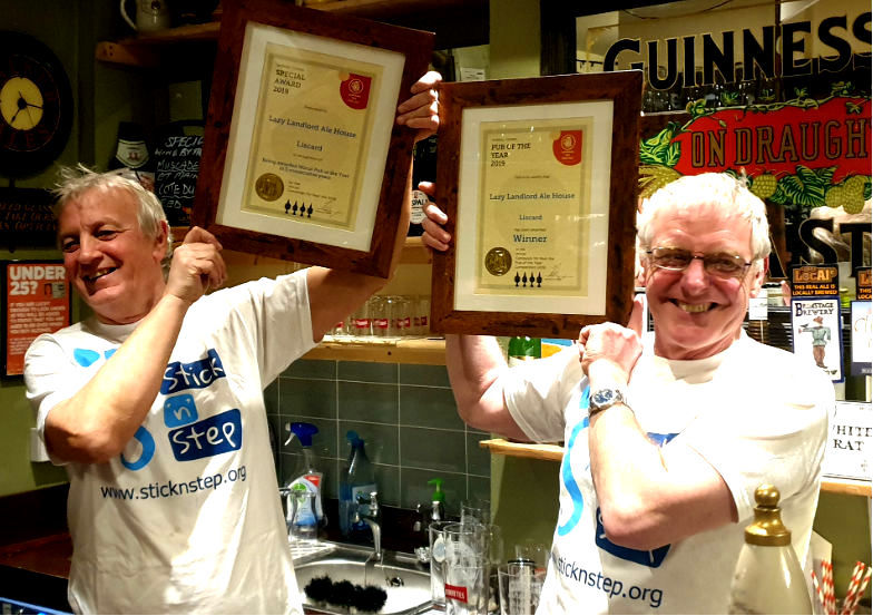 Liscard's Lazy Landlord pub scoops special awards