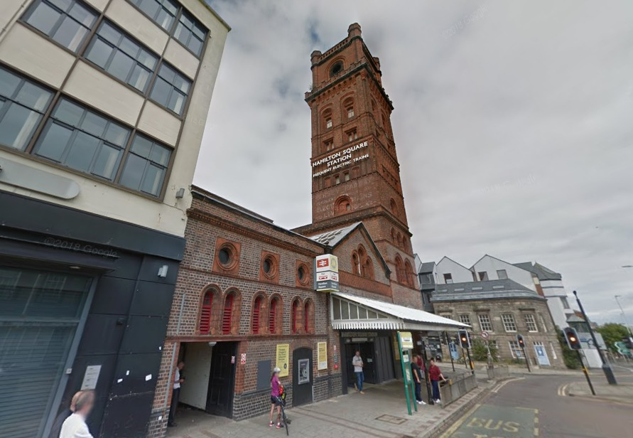Merseyrail confirmed that there were issues with electrical supply in Hamilton Square (Google Maps)