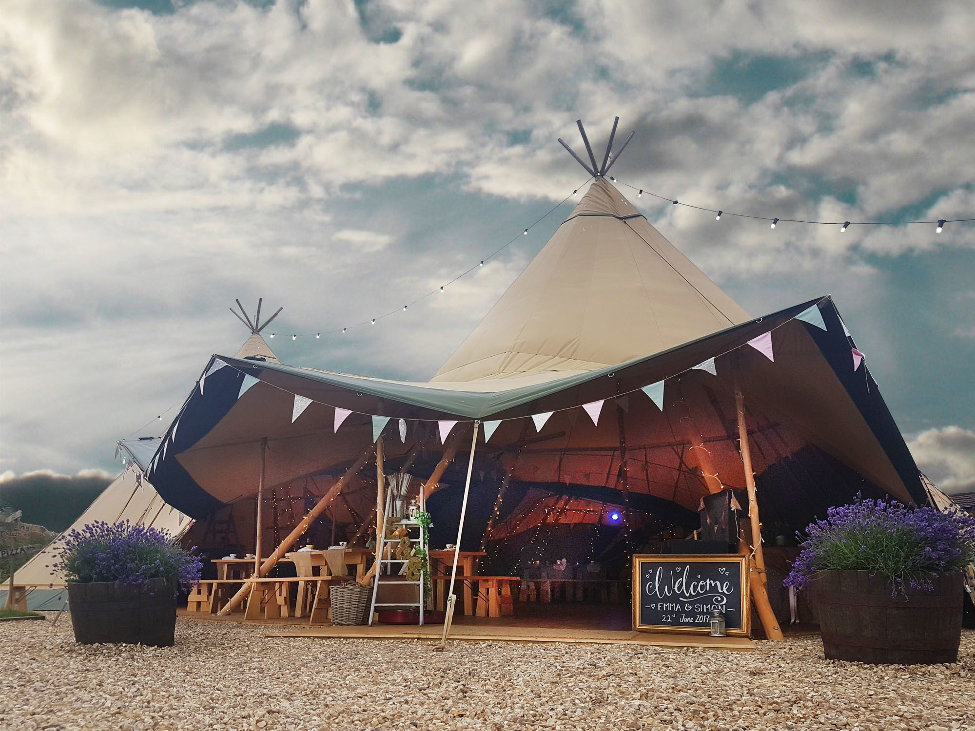 Big Tipis of Love are among the suppliers at The Big Weekender