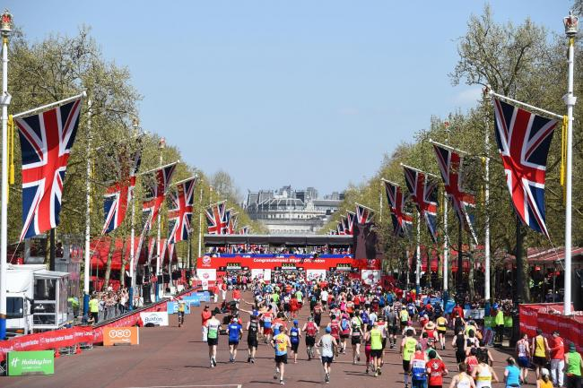 Are you taking part in the London Marathon this year?