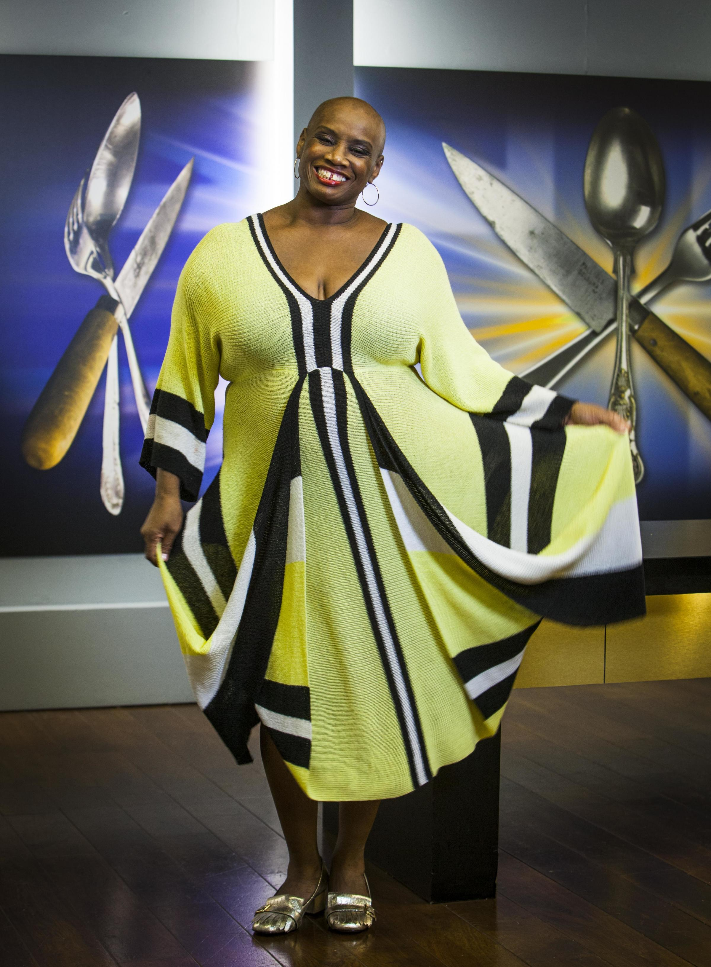 Award-winning TV chef Andi Oliver