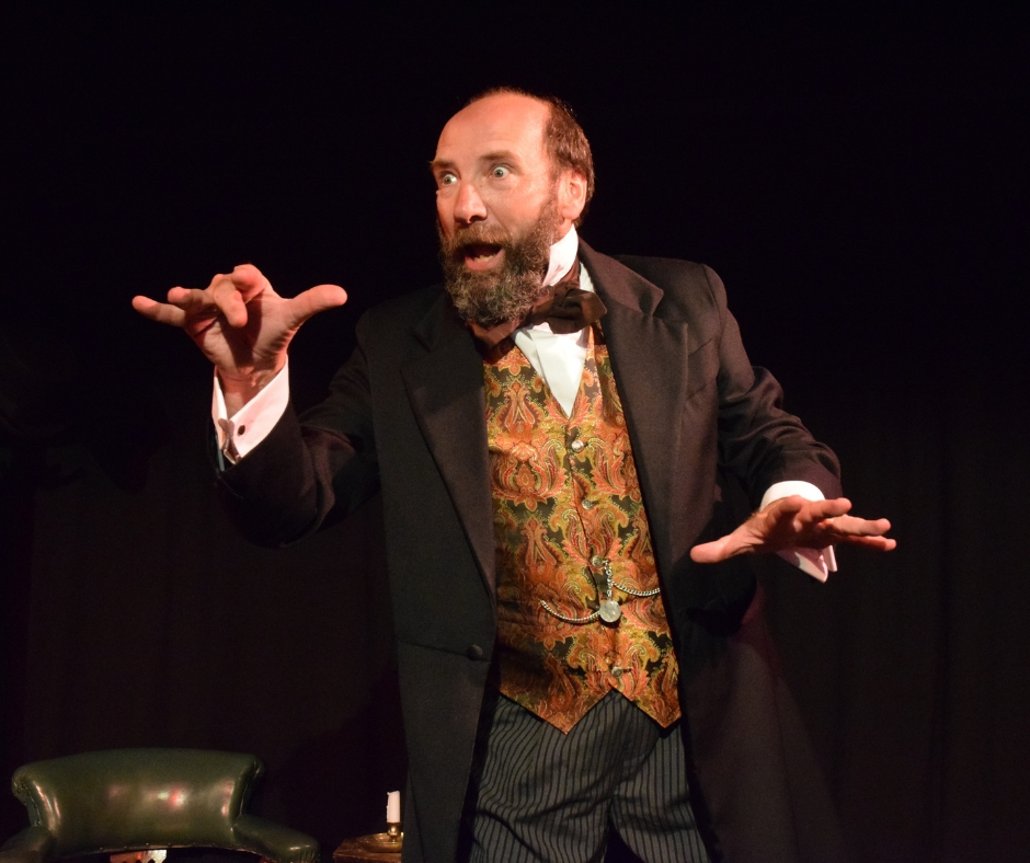 Gerald Dickens will headline the festival and will bring his multi-award-winning one man show to Westbourne Hall on Wednesday, June 5