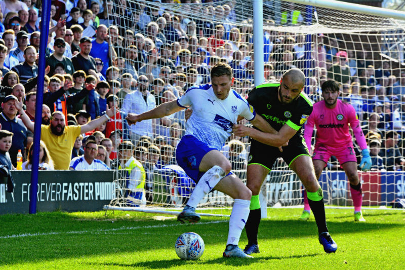 Tranmere beaten 1-0 by Forest Green Rovers at Prenton Park