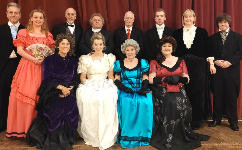 The cast of Wirral Community Theatre's   'A Woman of No Importance' - which is at Westbourne Hall in West Kirby from this Wednesday to Saturday (May 1-4).