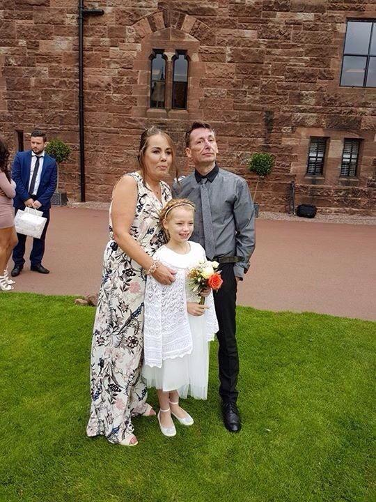 Martin Burnett with wife Liz and daughter Emma Leasowe resident Martin Burnett, who has lived in the UK for decades fears he will be deported after he was suddenly