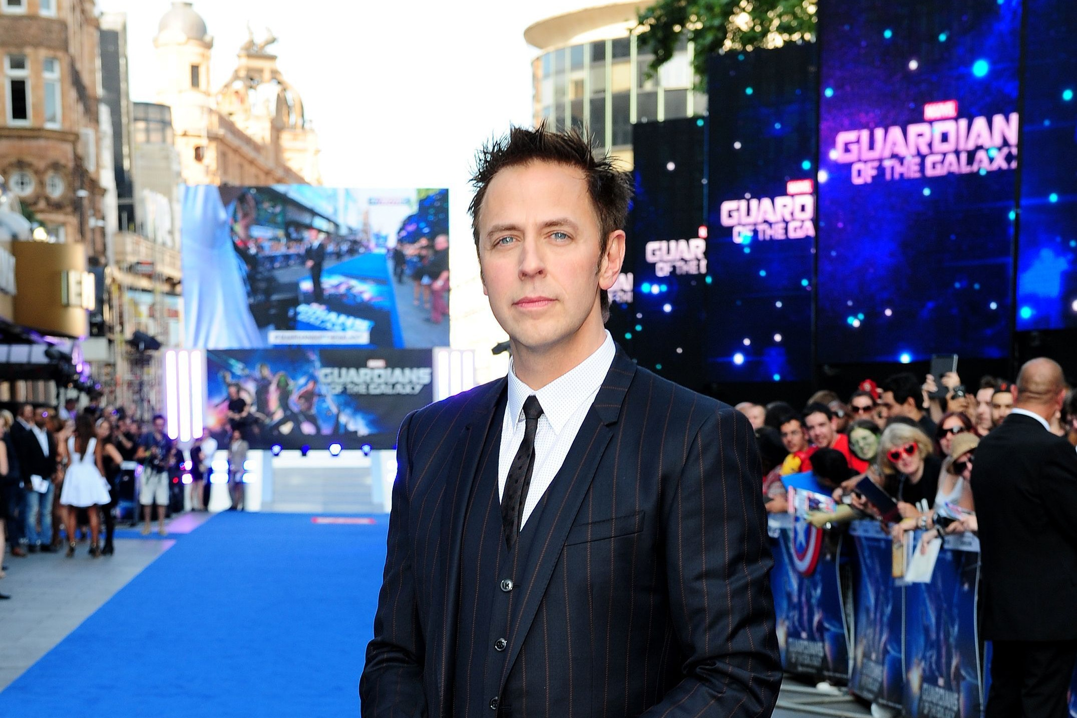 James Gunn at a premiere