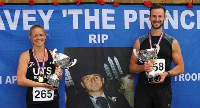 The winners of the Paul Lavelle Cup during last year's annual 10K in Hoylake
