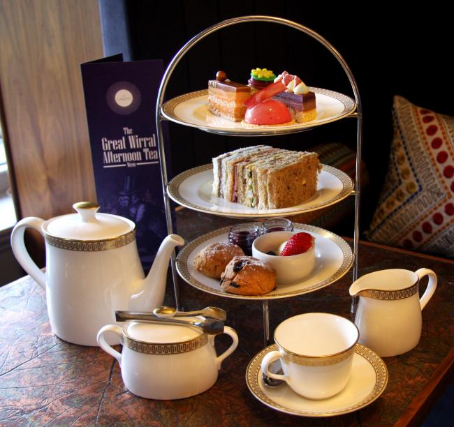 Thornton Hall's award-winning afternoon tea