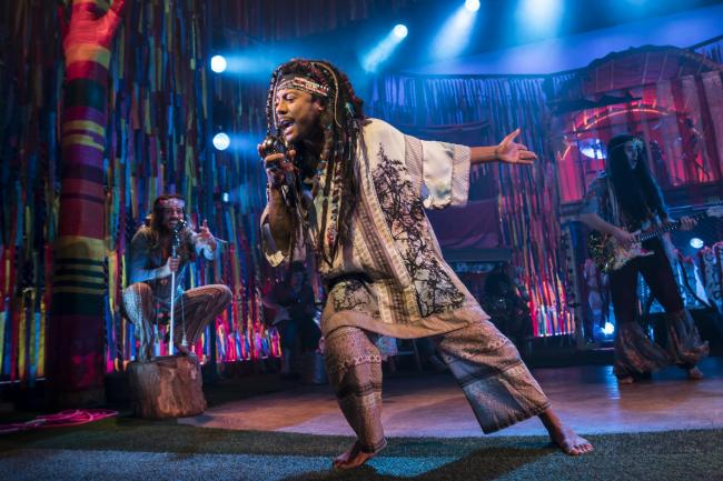 Marcus Collins (Hud) - Hair The Musical - UK Tour  (Picture: Johan Persson)