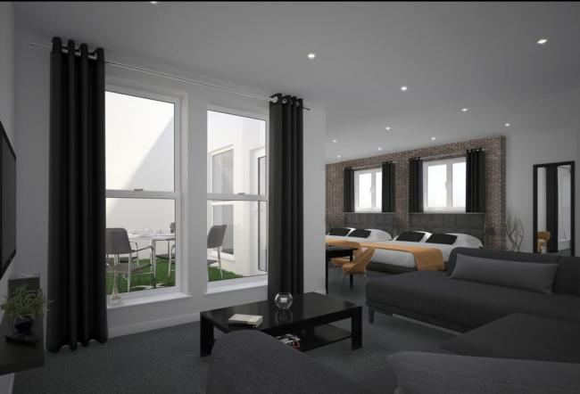 How one of the rooms inside the new Urbanista Hotel on Bold Street could look