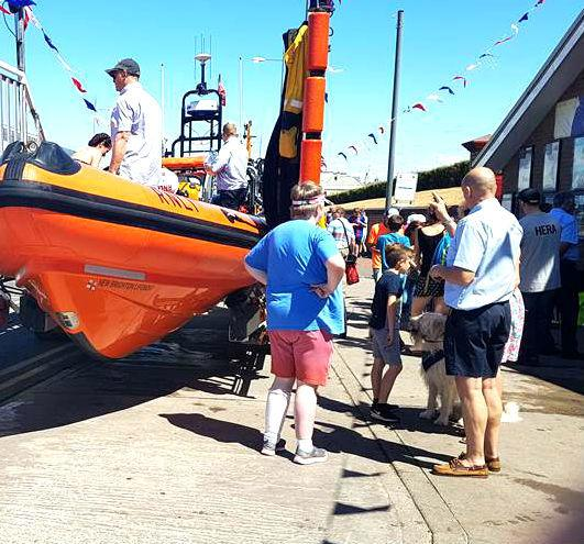 Visitors during last year's New Brighton lifeboat day. Picture: RNLI/Cherie Rowlands