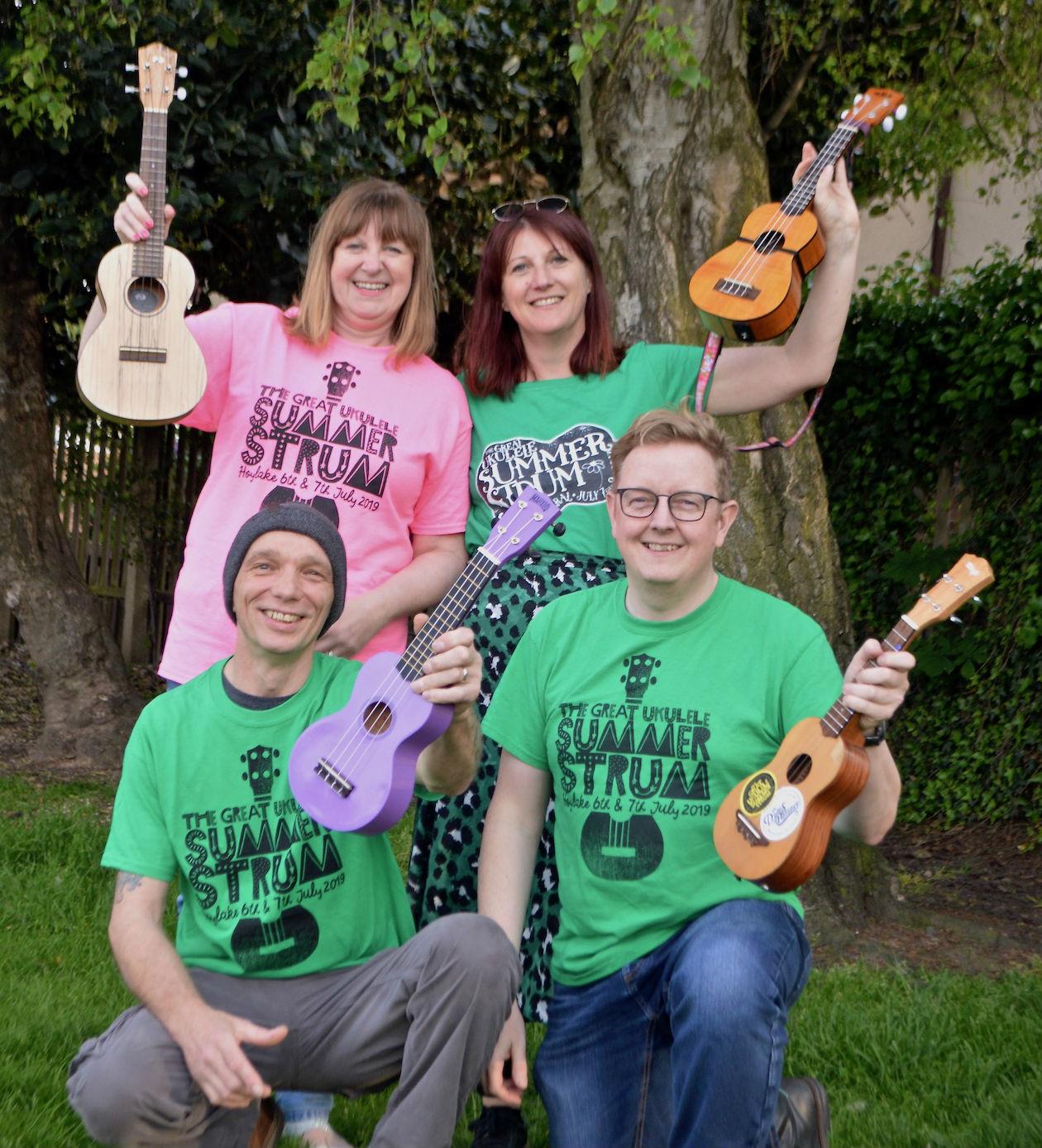 """Hoylake Summer Strummers launch """"ukulele amnesty"""" for community projects"""