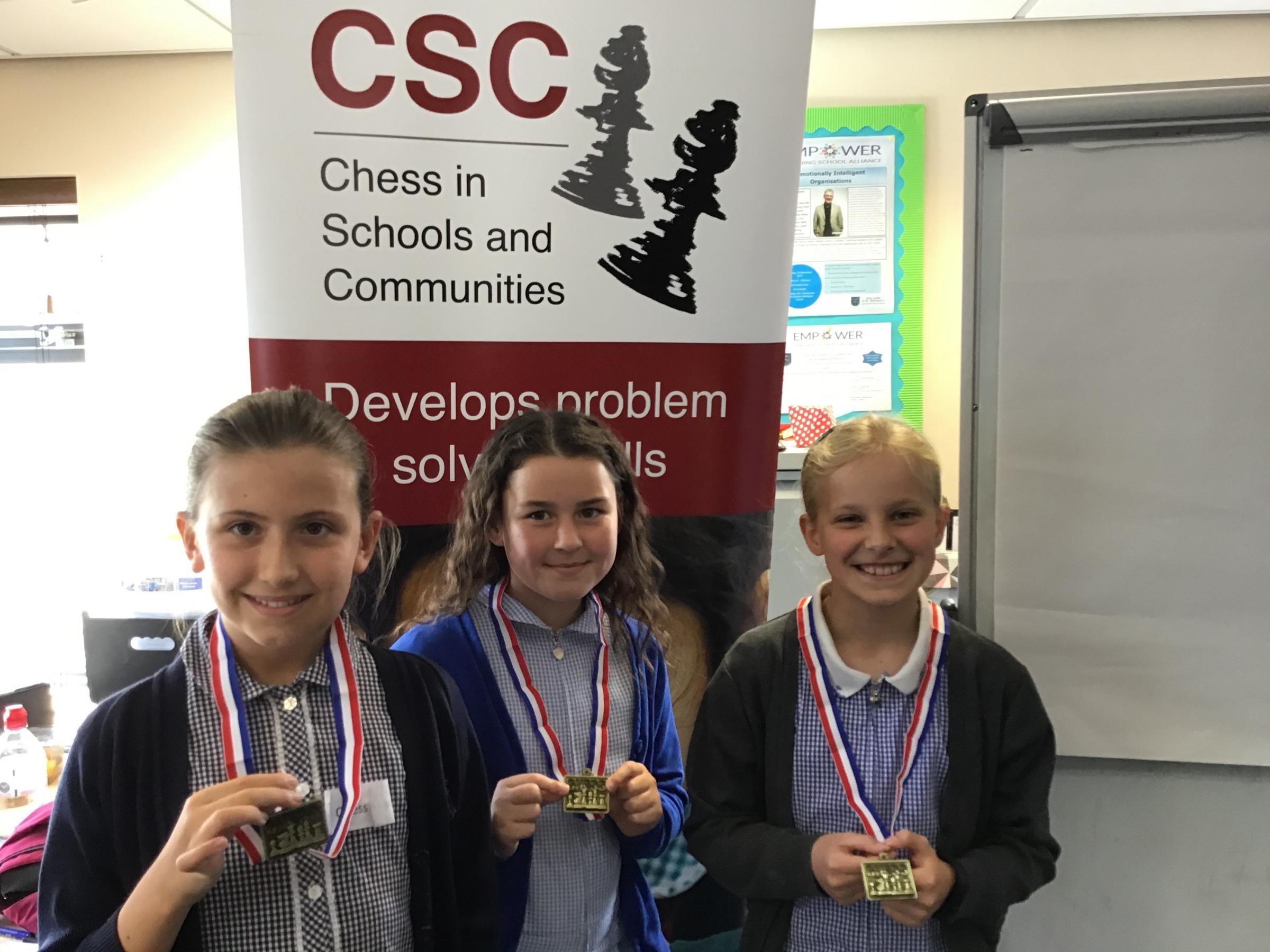 40 schoolgirls take part in Empower Girls Chess Tournament